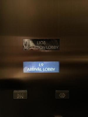リッツカールトンのエレベーター.jpg